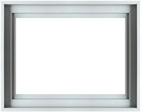Cadrea – Caja americana de madera para lienzos, madera, blanco, 40 ...