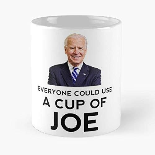 Barack Obama Joe Biden Meme Funny Gift Perfect Idea Sayings - Coffee Mug Tea Cup Gift 11oz Mugs