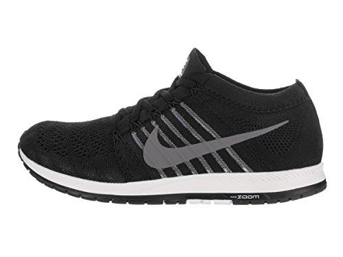Nike Unisex Flyknit Streak Nero / Grigio Scuro / Wht Scarpa Da Corsa 9.5 Uomini Us / 11 Donne Noi