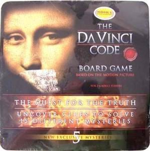 Da Vinci Code Board Game by Mega Brands