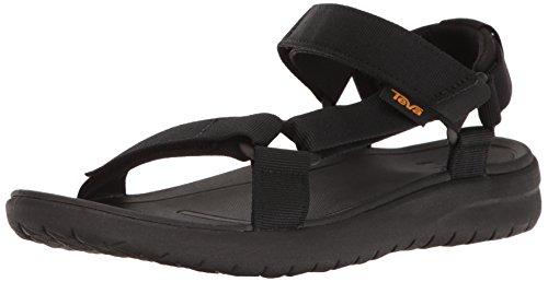 Teva Men's M Sanborn Universal Sandal Black 12 M US