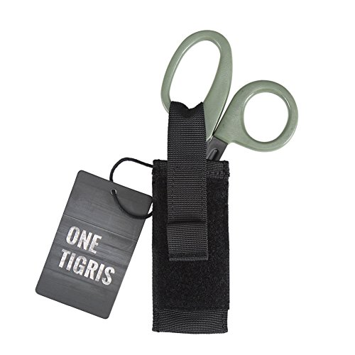 OneTigris Medical Shears Pouch Tactical EMT Scissor Sheath MOLLE Hand Tools Pouch (Scissors Sheath)