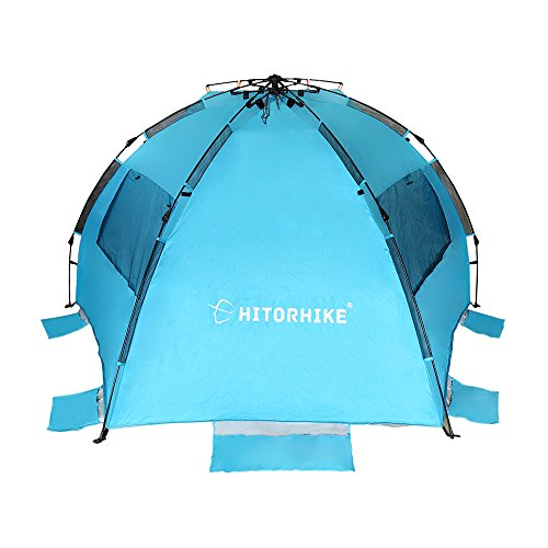 HITORHIKE Easy Up Beach Tent (pacific blue)