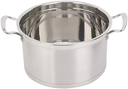 41QPFucOD5L. AC Zerone Steamer Pot,26CM Stainless Steel Double Layer Food Steamer Pot Stockpot Cookware Household Cooking Tool    Specification: Condition: 100% Brand New Product material: 201 stainless steel Product specifications: 26cm Pot bottom type: composite bottom Product Type: Steamer, stockpot Product size: about 26 * 26 * 22.5cm / 10.2 * 10.2 * 8.9in Product features: steamed, boiled, braised, etc.