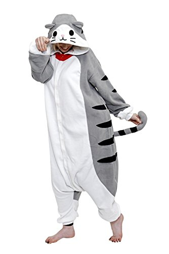 Animal Adults Onesie (Adults, Tabby Cat) -