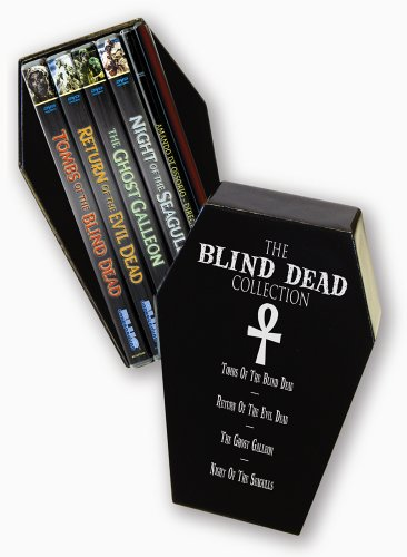 The Blind Dead Collection (Tombs of the Blind Dead / Return of the Evil Dead / The Ghost Galleon / Night of the Seagulls / Amando De Ossorio- Director) by Rykodisc