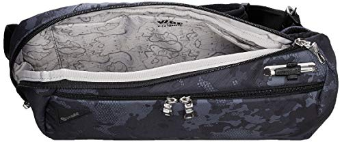 Pacsafe Vibe 325 10 Liter Anti Theft Sling Bag / Crossbody - Fits 13 inch Laptop, Grey Camo