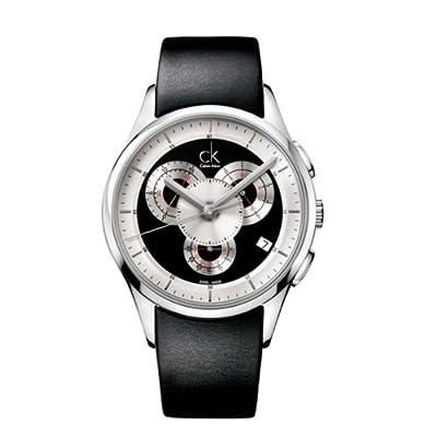 Calvin Klein Men's K2A27102 Basic Analog Display Swiss Quartz Black Watch