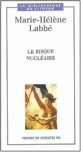 Livres gratuits Le Risque nucléaire pdf ebook