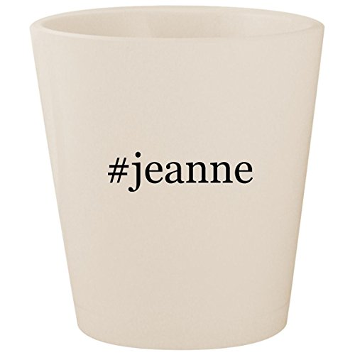 #jeanne - White Hashtag Ceramic 1.5oz Shot ()