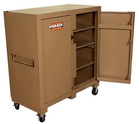 Knaack 109 Jobmaster Cabinet with Double Doors on Front Side