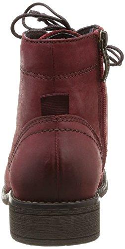 Tamaris 25200 - Botas de cuero mujer Rojo - Rouge (Scarlet 501)