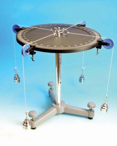 Eisco PH0347A Precision Aluminum Force Table 40 cm Diameter