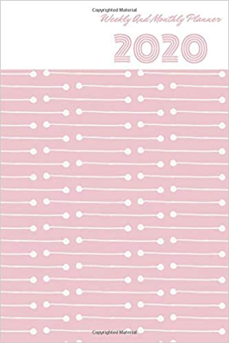 2020 Weekly And Monthly Planner: Monthly calendar Planner ...