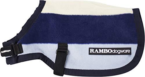 (XXS, Navy) Rambo Deluxe Dog Blanket