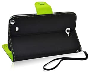 Ionic POSITION Stand Protective Case for Samsung Galaxy Note II Note 2 N7100 (Black)