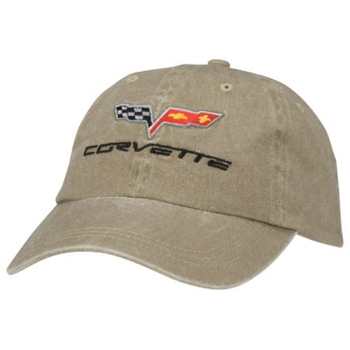 C6 Corvette Khaki Hat