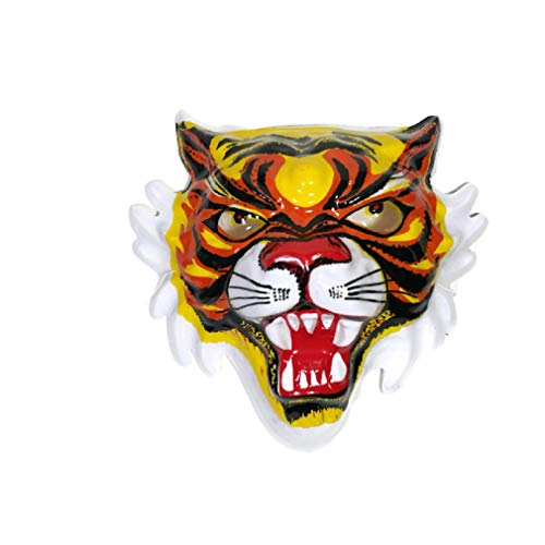 - Wonderrun Tiger face mask to Toy Cosplay Night Party Event Halloween Protect Waterproof and Recognize