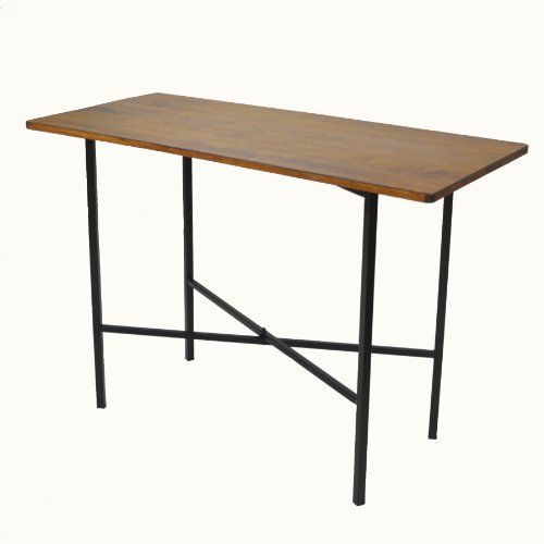 Carolina Chair & Table Rectangle Durham Berkshire Bar Table, Large (Counter Rectangle Table Height)