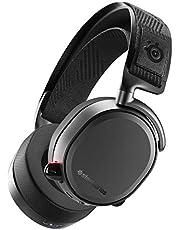 SteelSeries Arctis Pro Wireless - Auriculares de Juego inalámbricos (2,4 G y Bluetooth),  Negro