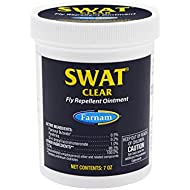 Farnam SWAT Fly Repellent Clear Ointment for Horses, 7 oz.