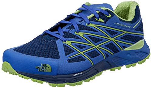- The North Face Ultra Endurance Running Shoe - Men's Cosmic Blue/Macaw Green 10.5