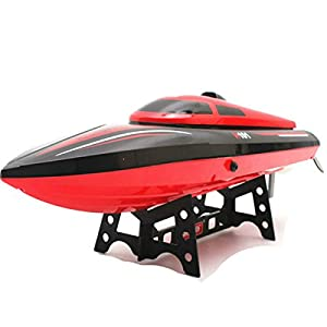 SkyCo New 2.4GHz High Speed Remote Control Electric Boat Pools, Lakes and Outdoor Adventure [Large Size]
