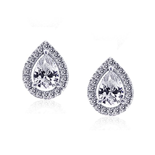 CARAT* London femme  Argent 925/1000  Argent|#Silver Poire   Blanc Andere