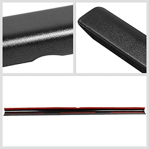 Black//Tape-On Works with 13-15 Nissan Frontier UrMarketOutlet Rear Tailgate Cargo Truck Bed Cap Molding Rail Protector Cover