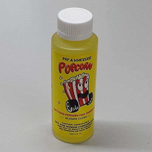 Power Plus 19769-80 Fuel Additive Fuel Fragrance Pop A Wheelie Popcorn Scent