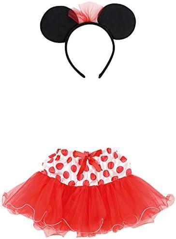 Carnival Toys 6673 – Juego Disfraz, Minnie Mouse niña con falda y ...
