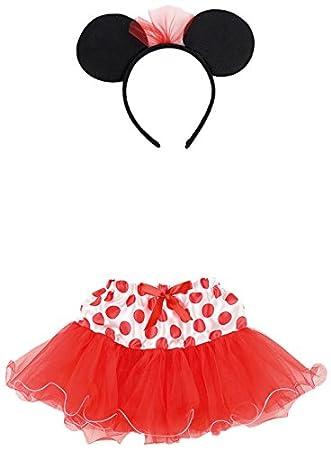 Carnival Toys 6673 - Juego Disfraz, Minnie Mouse niña con falda y ...