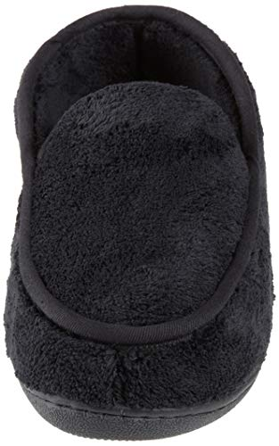 Pictures of ISOTONER Men's Microterry Slip On Slipper A95019BLKLG 6