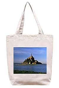 Isla CASLE–algodón Canvas Tote Bag