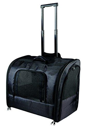 Trixie Nylon Trolley Elegance, 45 × 41 × 31 cm, Black