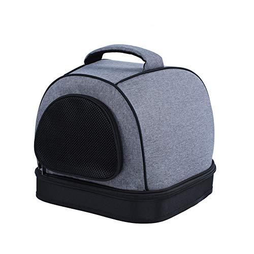 Ryan Mochila para Mascotas, Transportador De Honda para Mascotas Porta Hombros Transpirables Sling Manos Libres para Viajes...