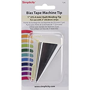 Amazon.com: Simplicity Bias Tape Maker 1  Quilt Binding Tip: Arts ... : binding a quilt with bias tape - Adamdwight.com