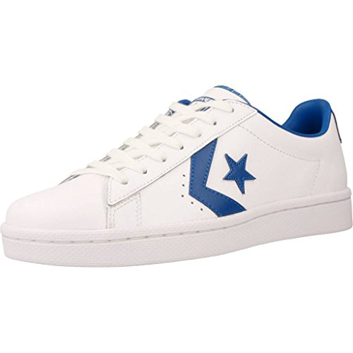 OX White Jay Blue Pro Converse Bianco Sneaker Leather xOSRSv
