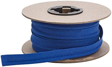 """PEARL 1/2"""" Wide Broadcloth Cord Piping, 15 yd, Cobalt"""