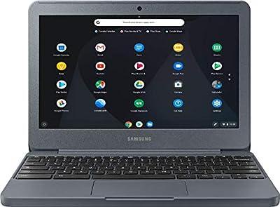 "Samsung 11.6"" Chromebook with Intel N3060 up to 2.48GHz, 4GB Memory, 32GB eMMC Flash Memory, Bluetooth 4.0, USB 3.0, HDMI, Webcam, Chrome Operating System"