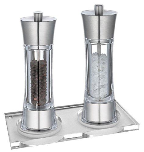 Zassenhaus Pepper + Salt Mill 7.0-inch with Stand ()
