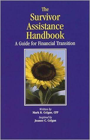 IThe Survivor Assistance Handbook/I