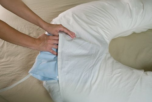 Comfort U Total Body Full Support Pillow And An Additional