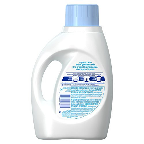 Review Tide Free and Gentle Liquid Laundry Detergent, 50 oz, 32 loads (2 Count)