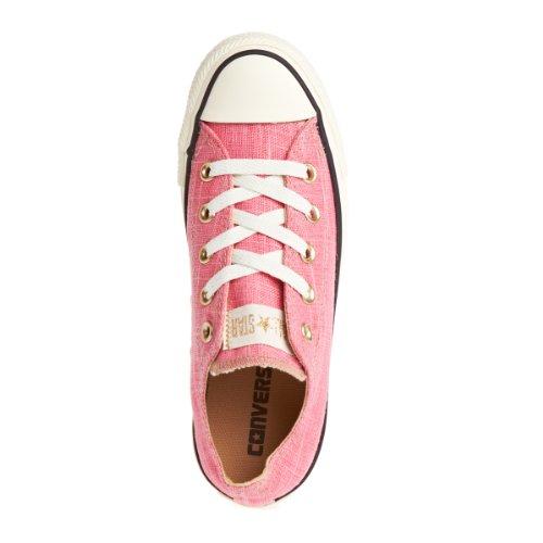 Converse , Chaussures de ville à lacets pour femme gold/pink/rose