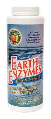 Earth Friendly Products Proline PL9704/12 Earth Enzymes Build-up Remover and Drain Maintainer, 2 lbs Shakers, For Clearing Clogged Drains (Case of 12)
