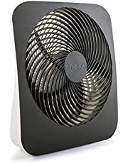O2COOL 10-Inch Portable Desktop Air Circulation Battery Fan - 2 Cooling Speeds - With AC Adapter