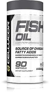 Cellucor, Fish Oil, Omega 3 Fatty Acids, 90 Softgels