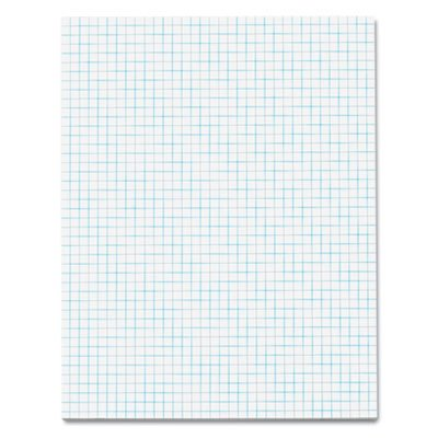 Quadrille Pads, 4 Squares/inc, 8-1/2 x 11, White, 50 Sheets, Total 72 PD by  (Image #1)