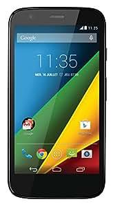 "Motorola Moto G 4G - Smartphone libre Android (pantalla 4.5"", cámara 5 Mp, 8 GB, Quad-Core 1.2 GHz), negro"
